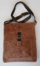 Hazelnut Messenger Bag by Dark Horse