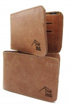 Dark Horse Mens-Wallet - Genuine Leather
