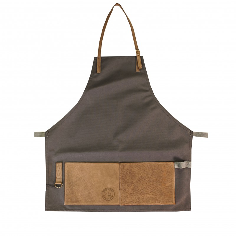 Work Apron Black/Chocolate