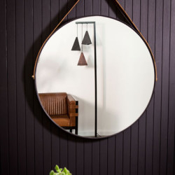 Dark Horse large round mirror