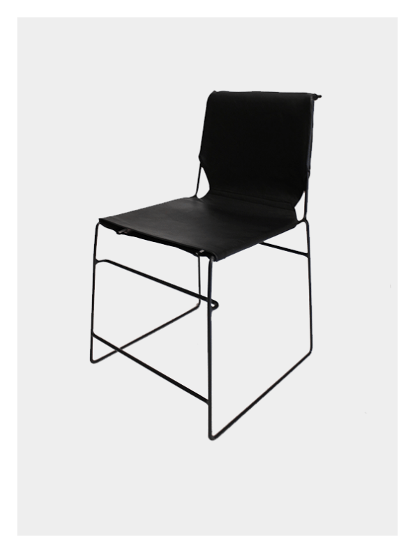 Metropolitan Chair – Black & Black