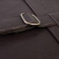 Dark Horse leather messenger