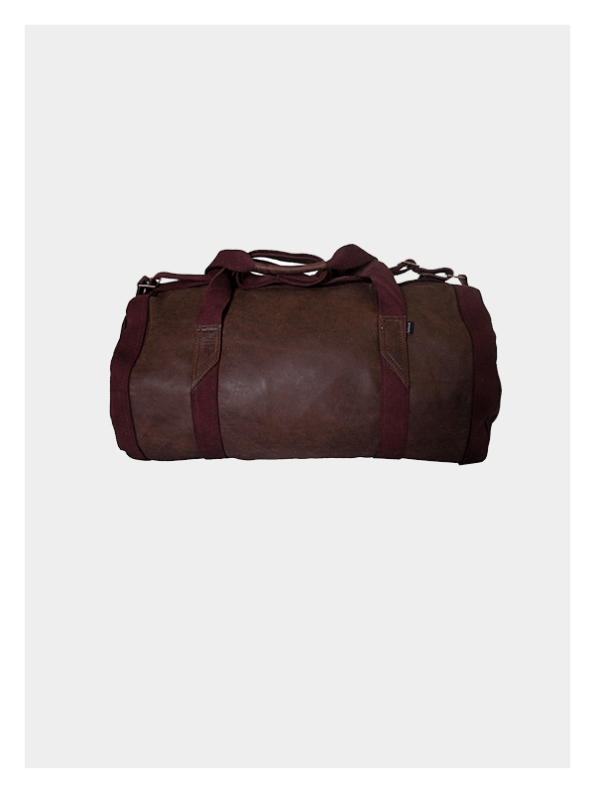Leather Duffel Bag Chocolate / Brown