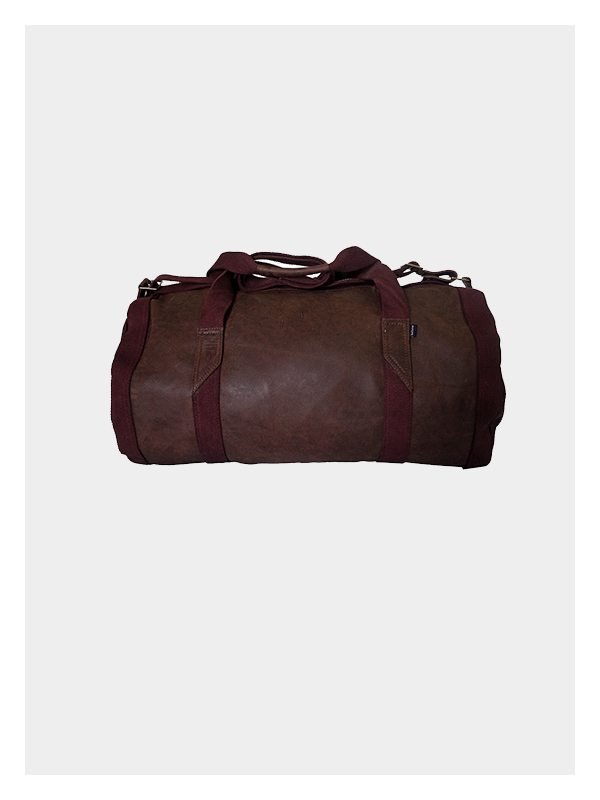 d09f2e9ea2 Leather Duffel Bag Chocolate   Brown » Dark Horse