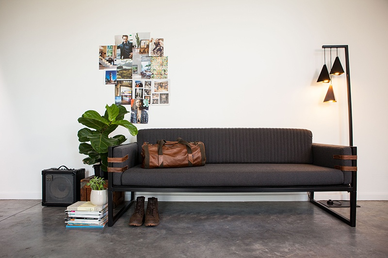 Boss Couch 3 Seater Couch by Dark Horse