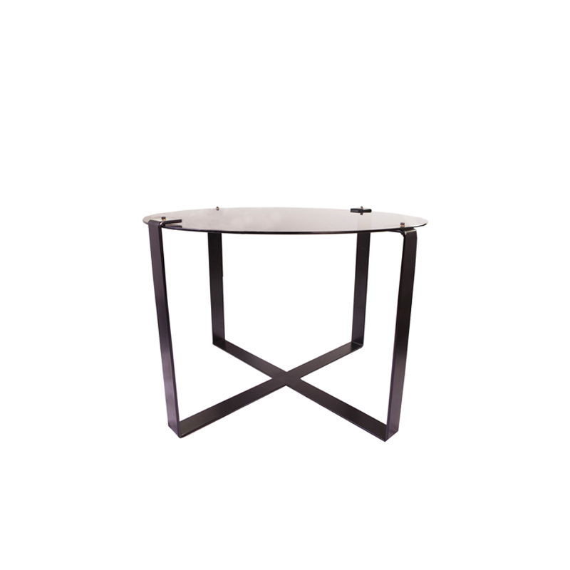 Clip Round Dining Table Glass