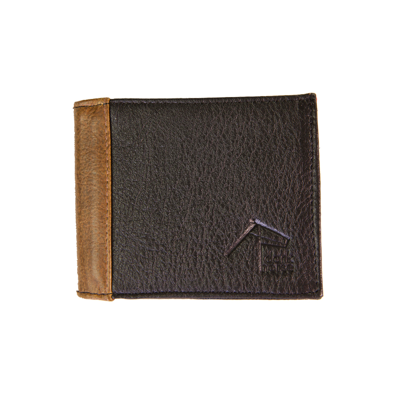 Men's Timbre Wallet  Black/Monsoon Straw