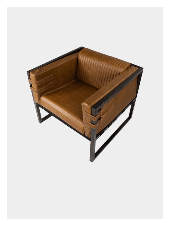 Boss Armchair – Tan