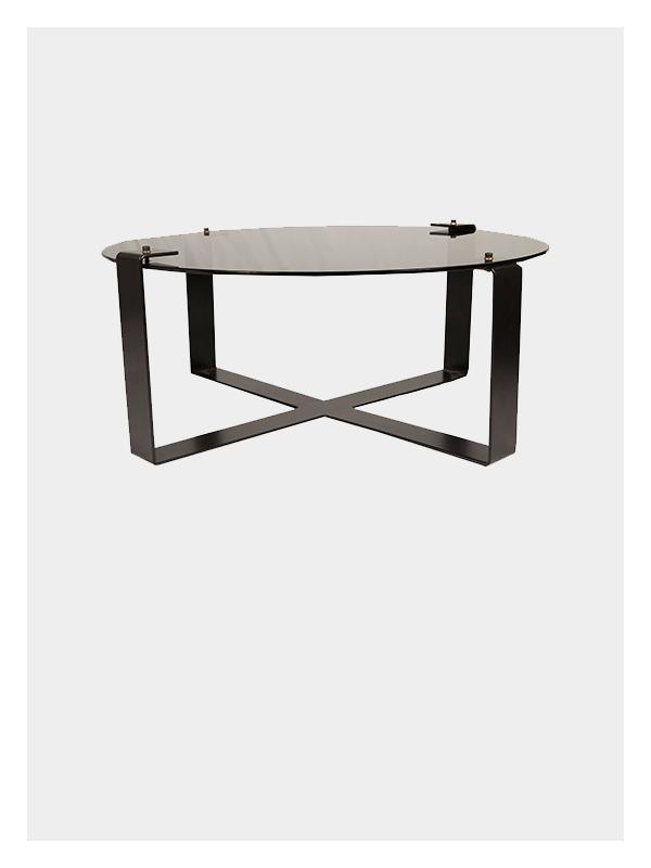Dark Horse Clip Round Coffee Table