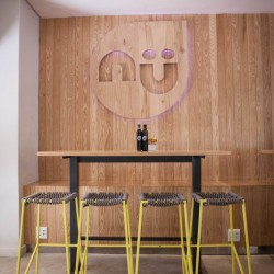 Bar seating at restaurant