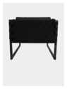 Boss Armchair - Black and Black