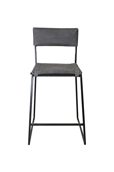 Stretch Back Chair – Grey – Tall