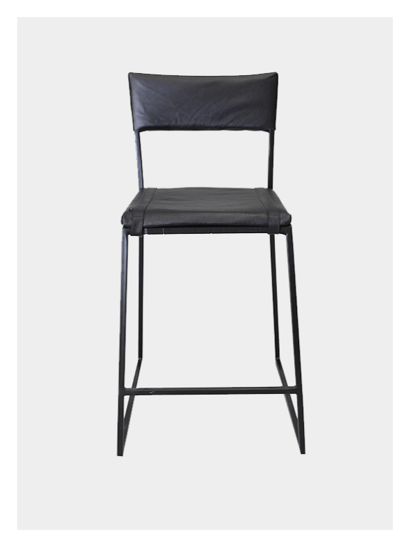 Stretch Back Chair Black – Tall