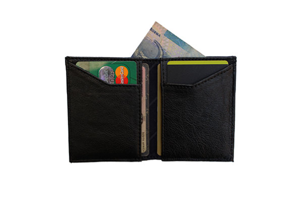 Dark Horse Men's Leather Wallet