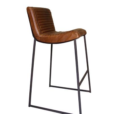 Leather Bar Chair In Ms Tan By Dark Horsedark Horse