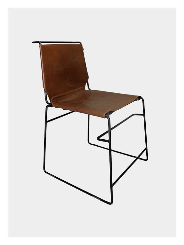 Metropolitan Chair – Tan & Black