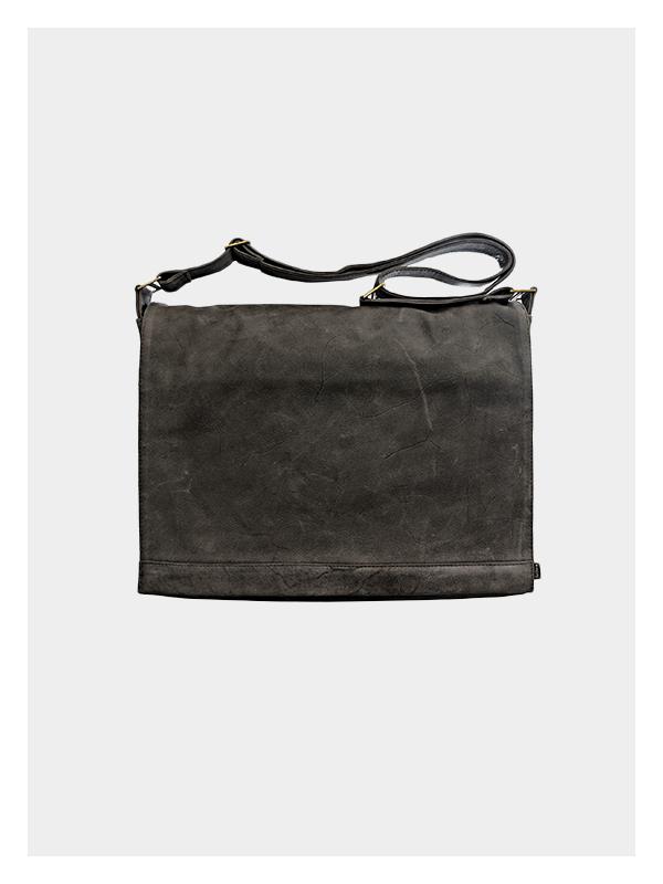 Classic Satchel 15″ Charcoal Grey