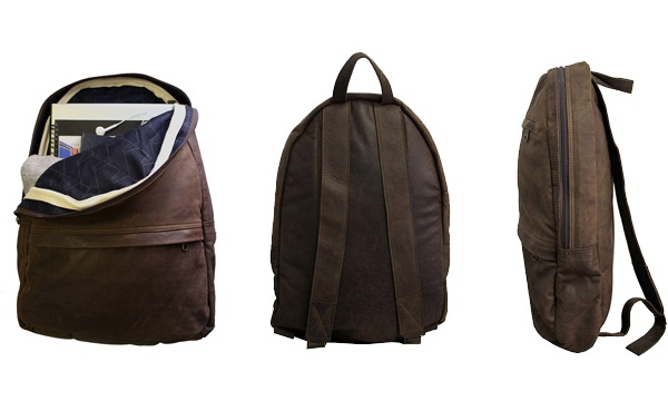 Dark Horse Leather Backpack