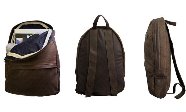 Dark Horse Leather Backpack