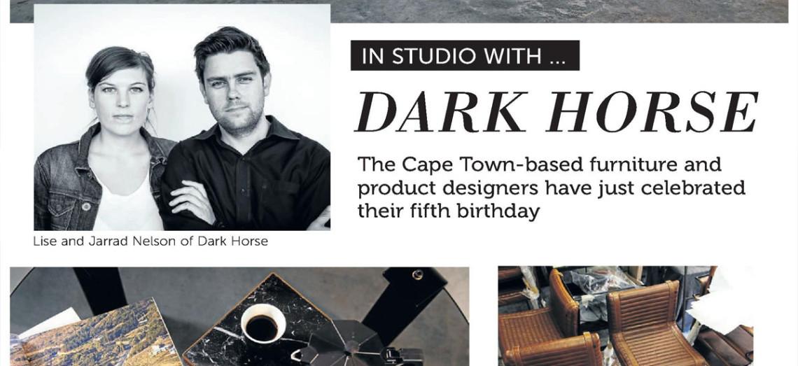 Dark Horse - Sunday times feature