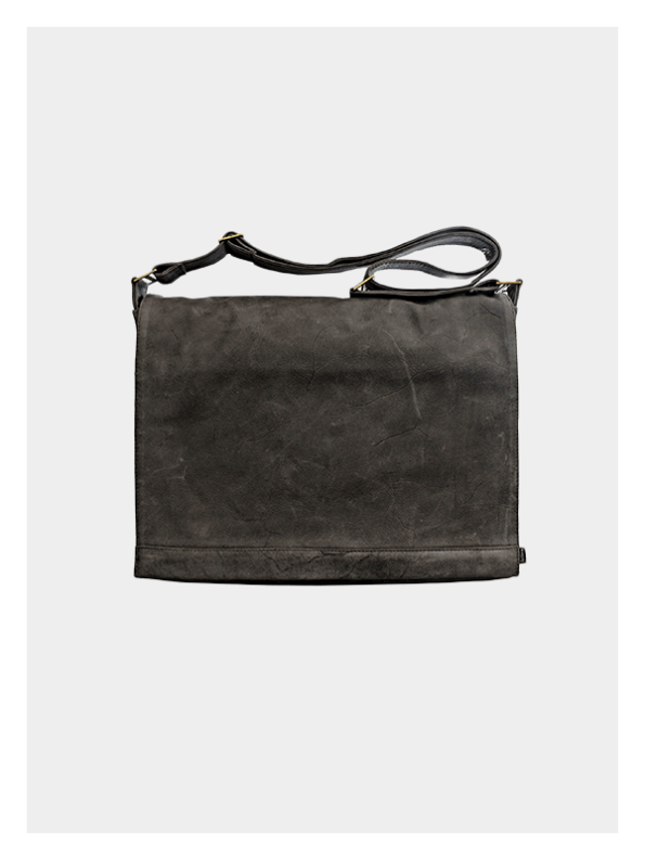 Classic Satchel 13″ Charcoal Grey