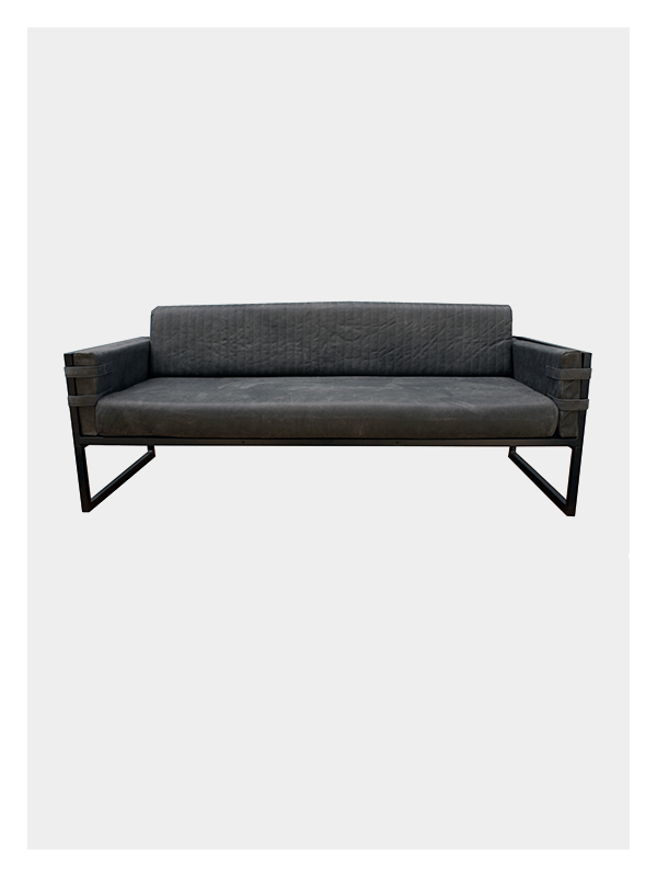3 Seater Boss Couch – Grey