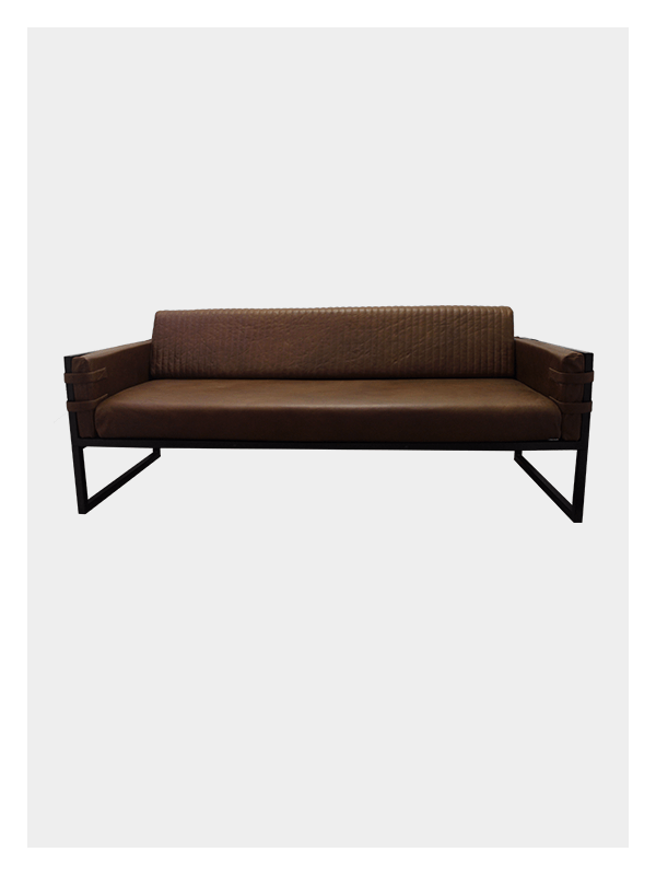 3 Seater Boss Couch – Tan