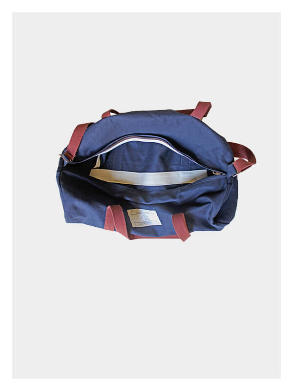 Gym Duffel Navy/Rust