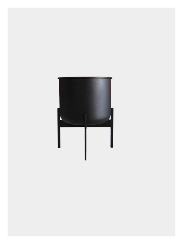 Zenith Planter – Black / Black