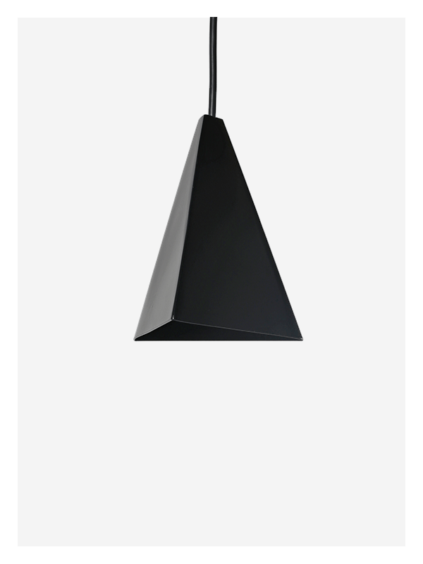 Black Tri Light – Pendant