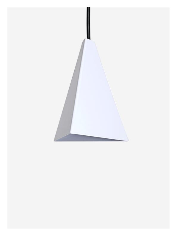 White Tri Light – Pendant
