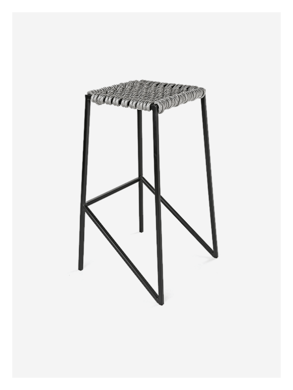 Woven Rope Stool