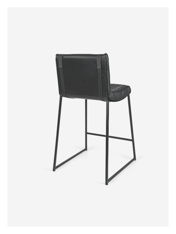 Leather Kitchen Counter Chair