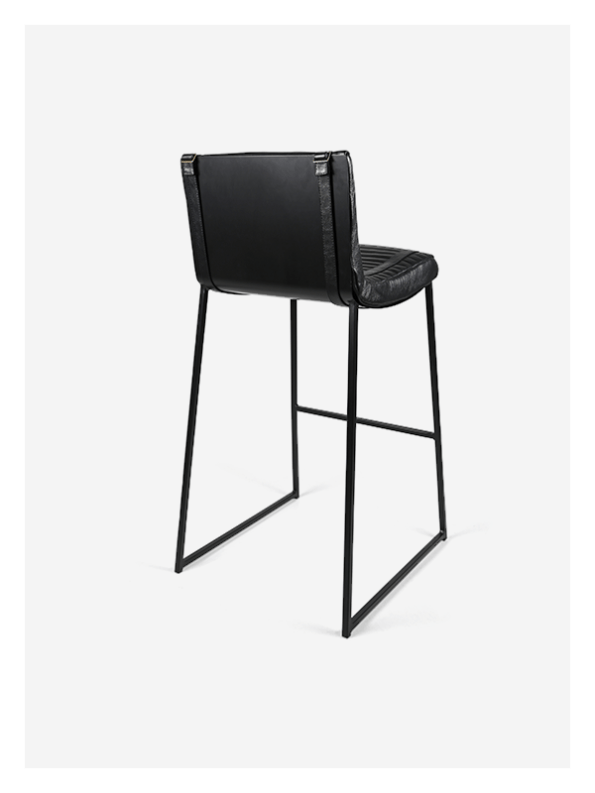 Leather Bar Counter Chair