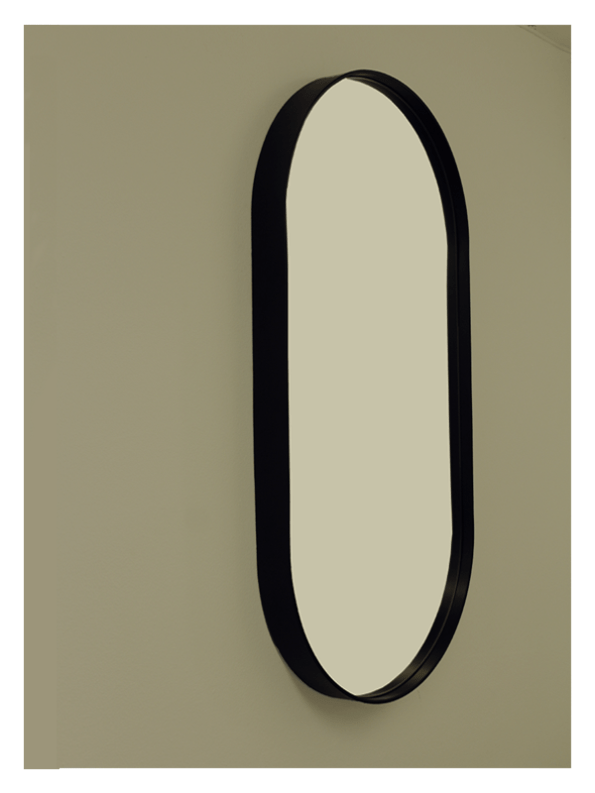 Deluxe Oval Wall Mirror by Dark Horse