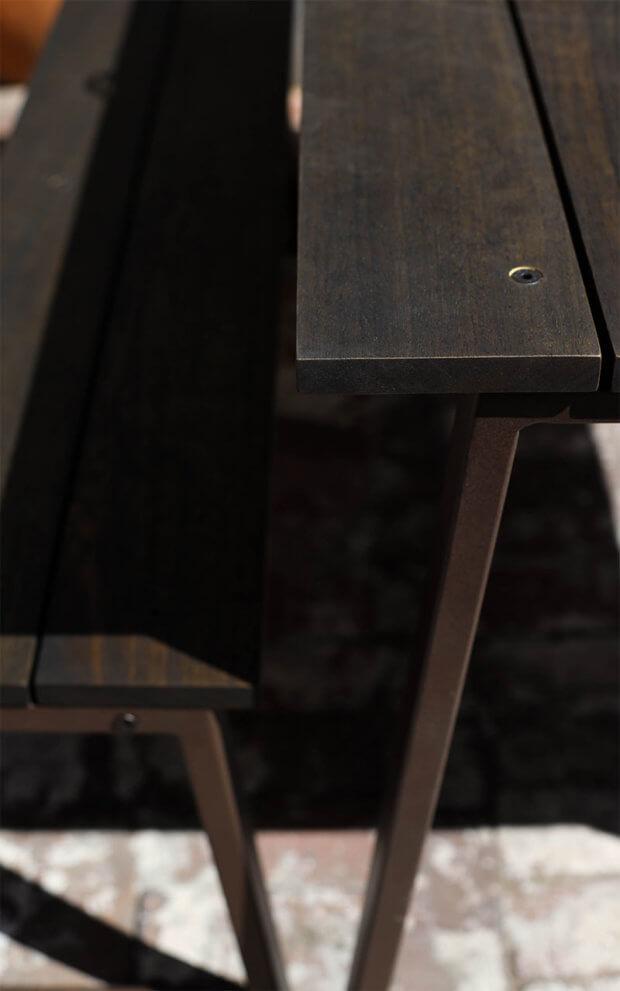 Timber Bench Detail