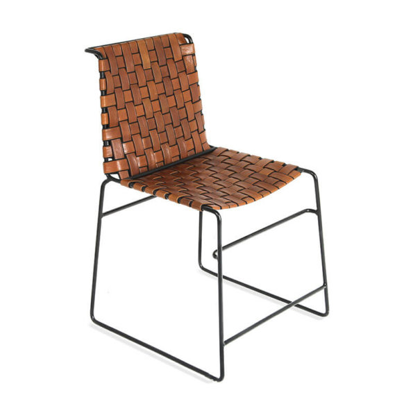 woven dining chair