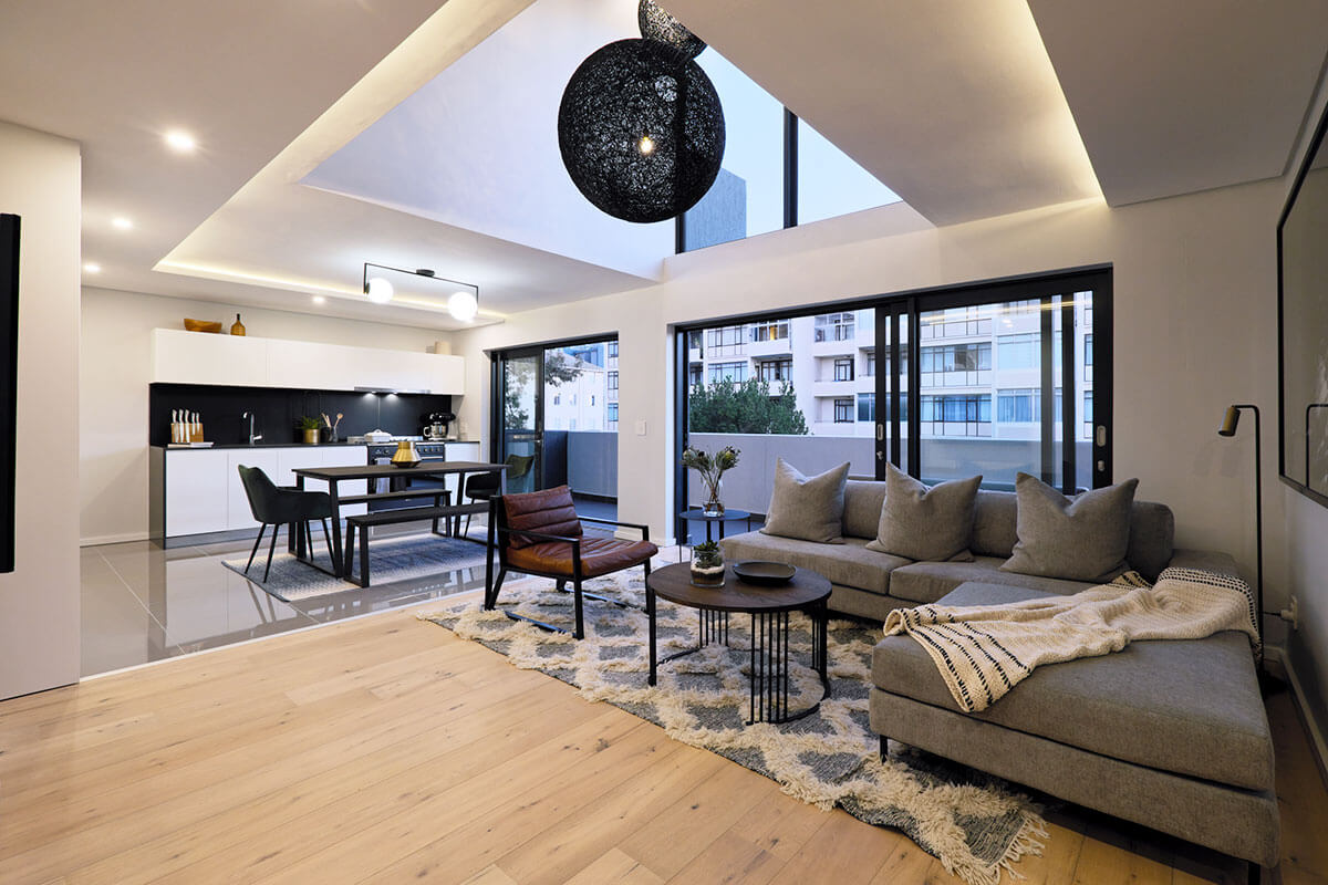 Modern Apartment interiors